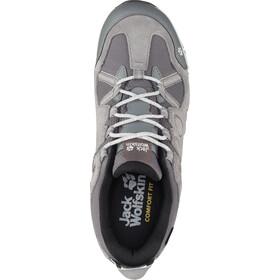Jack Wolfskin Rocksand Texapore Chaussures à tige basse Femme, grey haze